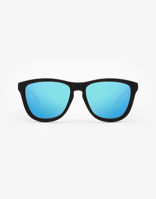 Carbon Black Clear Blue One